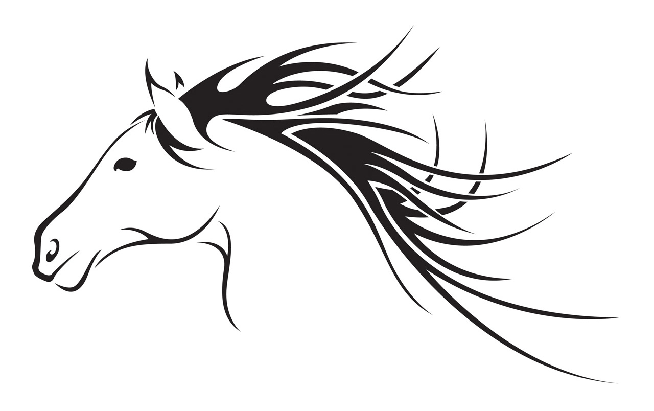 Free horse head clipart svg library stock 103+ Horse Head Clip Art | ClipartLook svg library stock