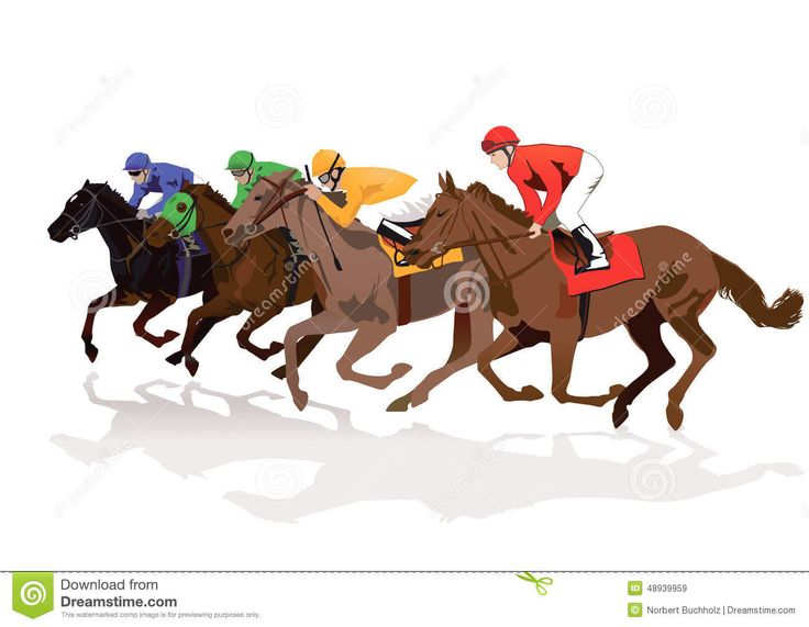 Horse racing clipart free 4 » Clipart Station jpg free library