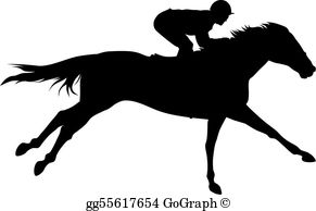 Free horse racing images clipart png transparent library Horse Racing Clip Art - Royalty Free - GoGraph png transparent library