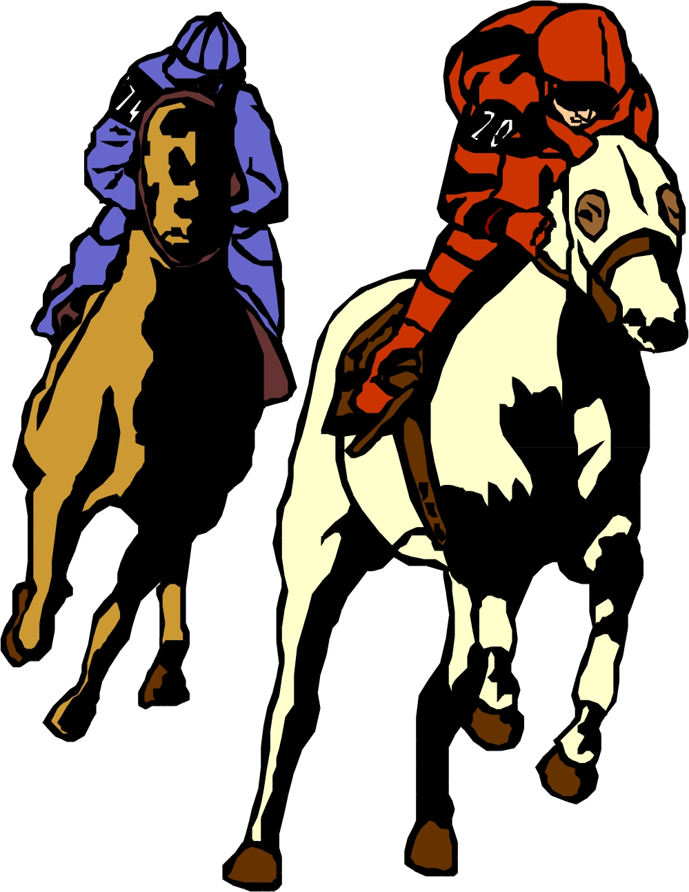 Free Horse Racing Clipart, Download Free Clip Art, Free Clip Art on ... jpg royalty free stock