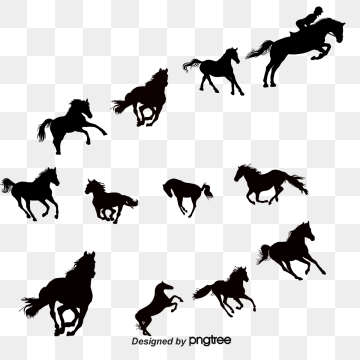 Free horse vector clipart. Graphic resources for download