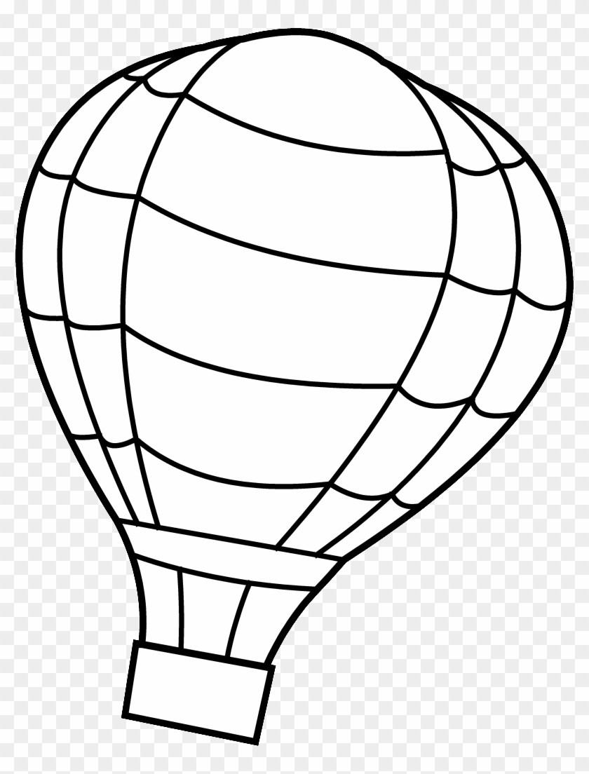 Hot air balloon clipart black and white graphic freeuse library Free hot air balloon clipart black and white 4 » Clipart Portal graphic freeuse library