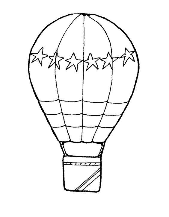 Free hot air balloon clipart black and white png royalty free Hot air balloon black and white hot air balloon clipart black and ... png royalty free