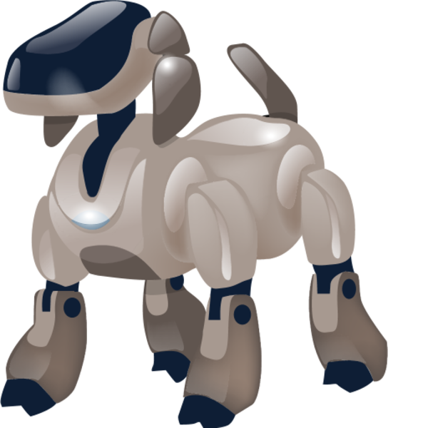 Robot dog clipart vector freeuse Dog Robot | Free Images at Clker.com - vector clip art online ... vector freeuse