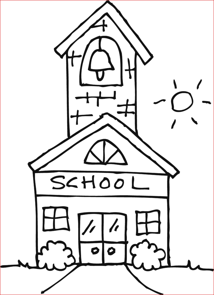 School owl clipart black and white clip art freeuse School House Clipart Elegant Outline Free Clip Art On Of Pictures ... clip art freeuse