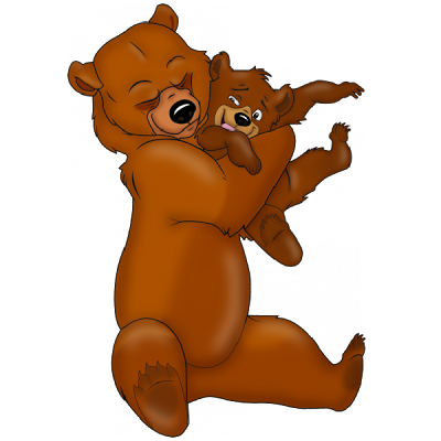 Mother cliparts download clip. Free hug mom with mama bear clipart