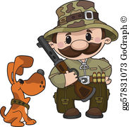 Free hunter clipart picture library download Hunter Clip Art - Royalty Free - GoGraph picture library download