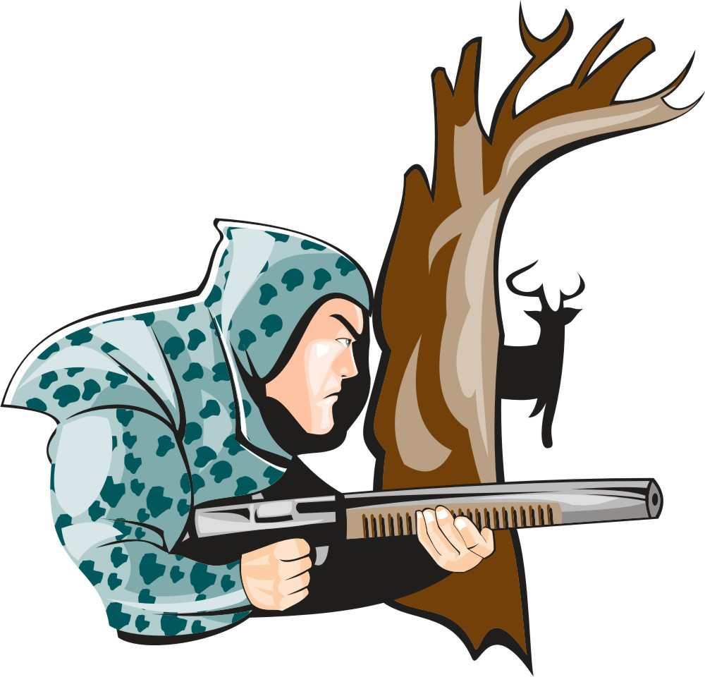 Free hunting clipart images. Clip art in wikiclipart