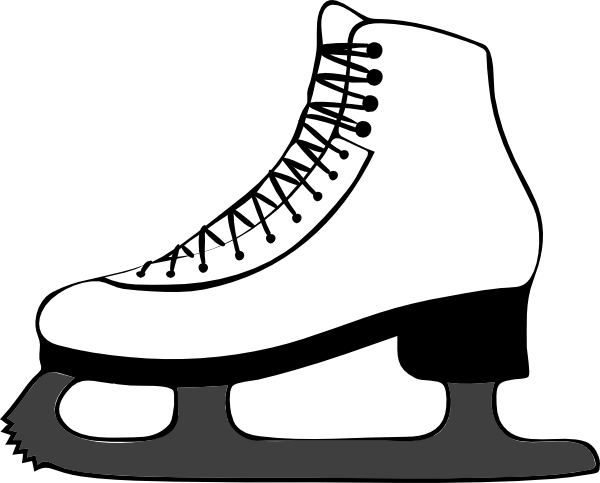 Free ice skater clipart black and white banner freeuse Free Pictures Of Ice Skates, Download Free Clip Art, Free Clip Art ... banner freeuse