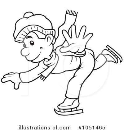 Free ice skater clipart black and white png freeuse stock Ice Skating Clipart Black And White png freeuse stock