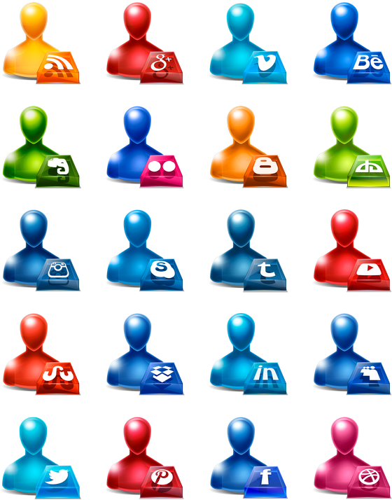 Hd social media icon. Free icons clipart download pack
