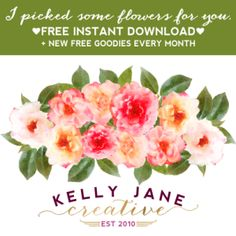 Free images flowers clipart svg freeuse Free Vintage Flower Clip Art + a preview | Clip art, Flower and ... svg freeuse