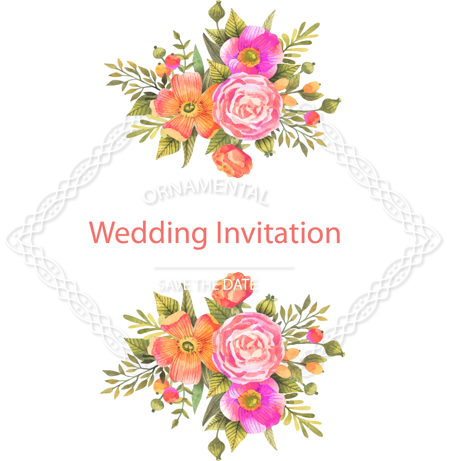 Free images of flowers to download svg freeuse Wedding invitation Flower Download - Fresh and beautiful flower ... svg freeuse