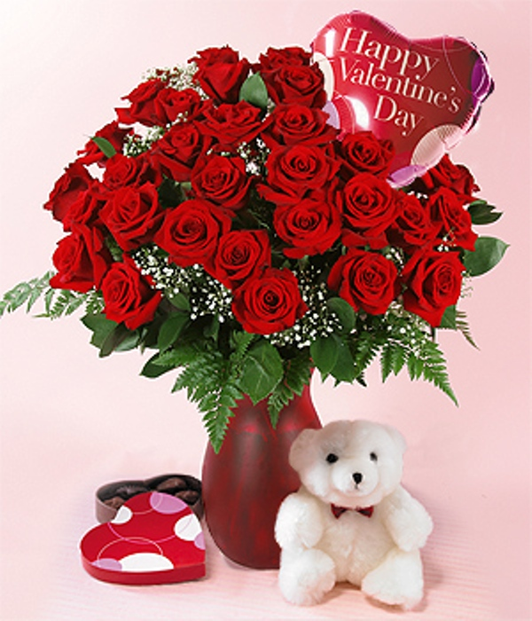 Free images of valentine flowers