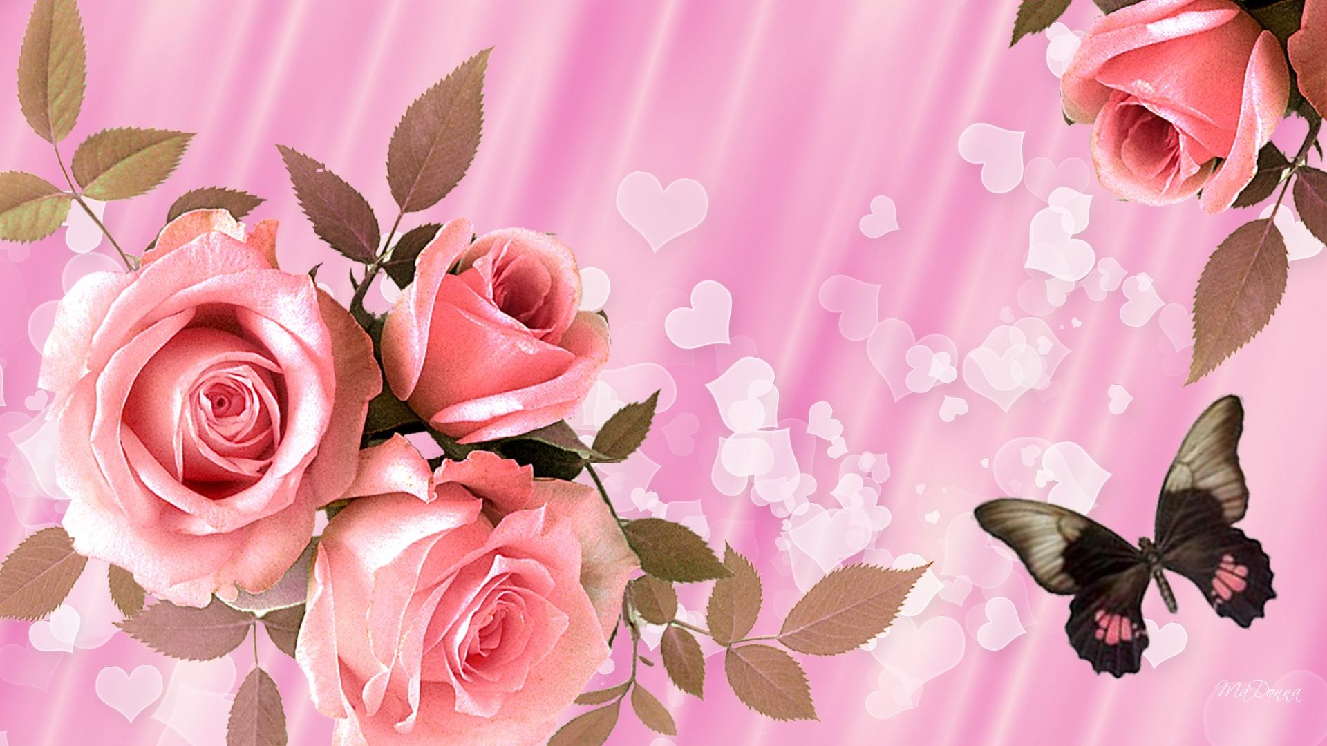 Free images of valentine flowers banner royalty free download Valentine Flowers Wallpaper HD Free Download   New HD Wallpapers ... banner royalty free download