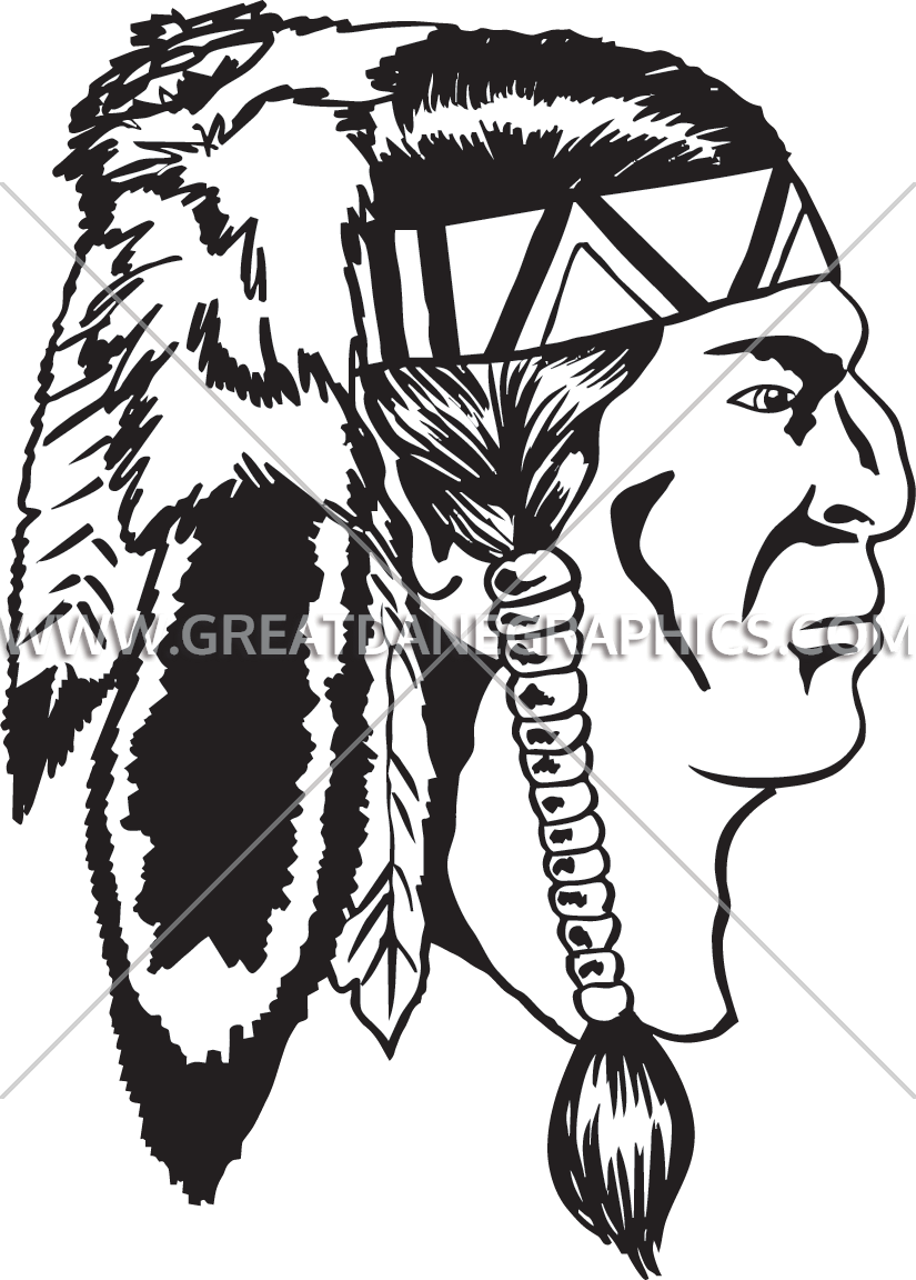 Free indian warrior clipart clip royalty free library Indian warrior head clipart images gallery for free download ... clip royalty free library