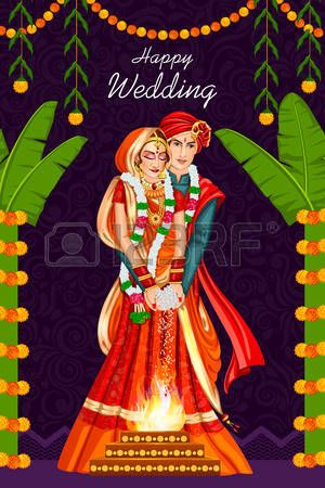 Free indian wedding vector clipart png transparent 347 Indian Wedding Couple Cliparts, Stock Vector And Royalty Free ... png transparent