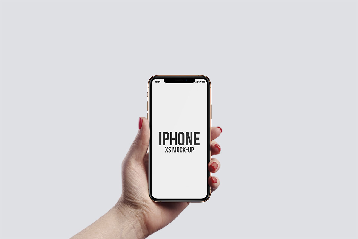Free iphone mockup clipart clip art freeuse download Free iPhone XS Hand Mockups - Creativetacos clip art freeuse download