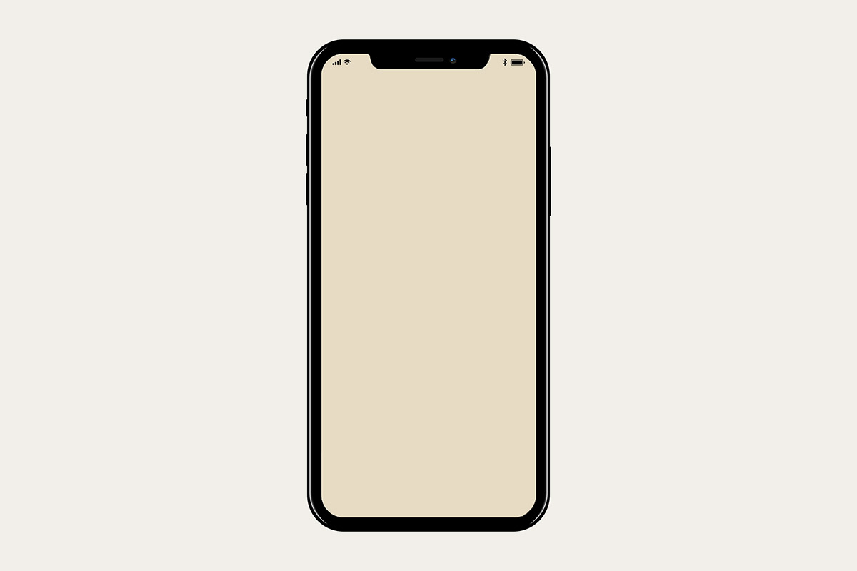 Free iphone mockup clipart jpg Free iPhone X Mockup - Creativetacos jpg