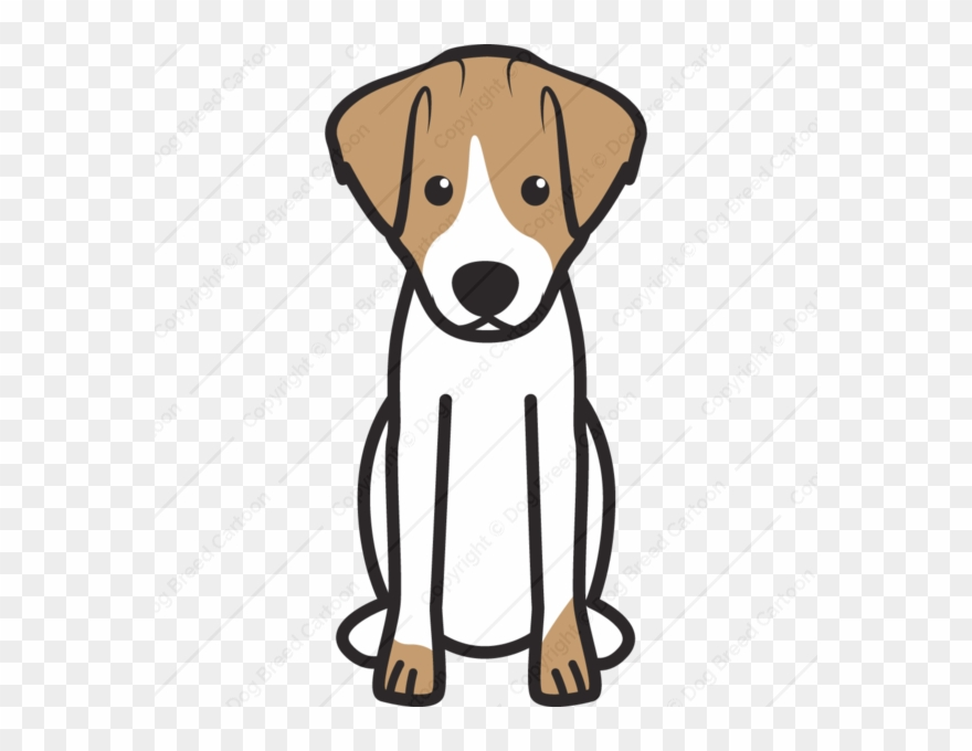 Free jack russell terrier clipart black and white jpg transparent library Jack Russell Terrier Cartoon Clipart – 2.000.000 Cool Cliparts ... jpg transparent library