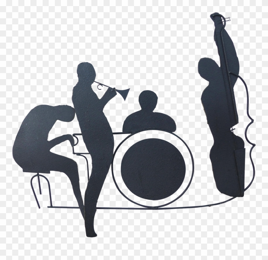 Free jazz big band clipart transparent background. Clip download vector png