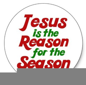 Free jesus is the reason for the season clipart clip art royalty free download Jesus Is The Reason For The Season Clipart | Free Images at Clker ... clip art royalty free download
