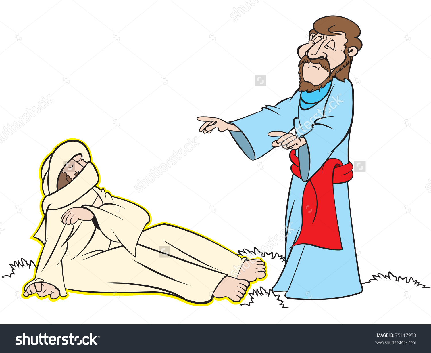 Raises cliparts download images. Free jesus raising lazarus from the dead clipart