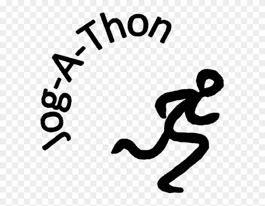 Free jog a thon clipart graphic black and white library Jog A Thon Volunteers Needed Asap Sierra Oaks Pta - Jog A Thon ... graphic black and white library