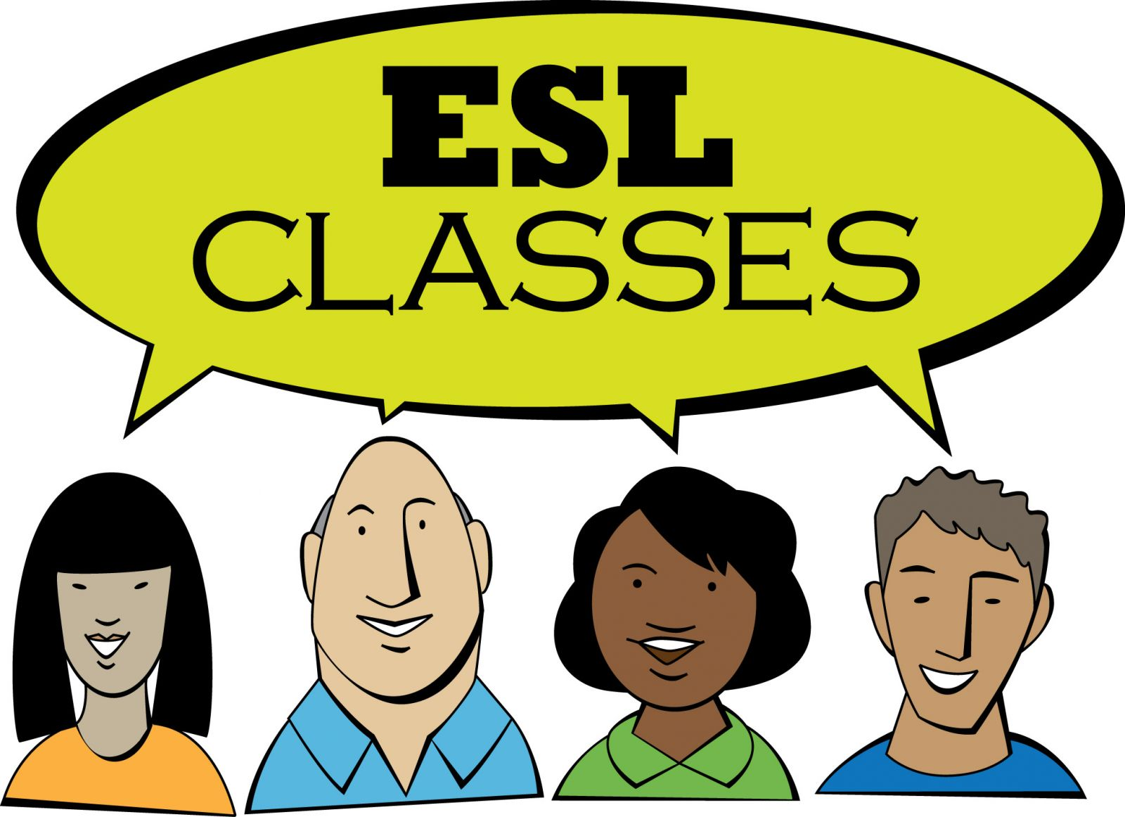 Free jpg clipart for english second language classes clip transparent ESL Classes | RUSA LGBT #390796 - Clipartimage.com clip transparent