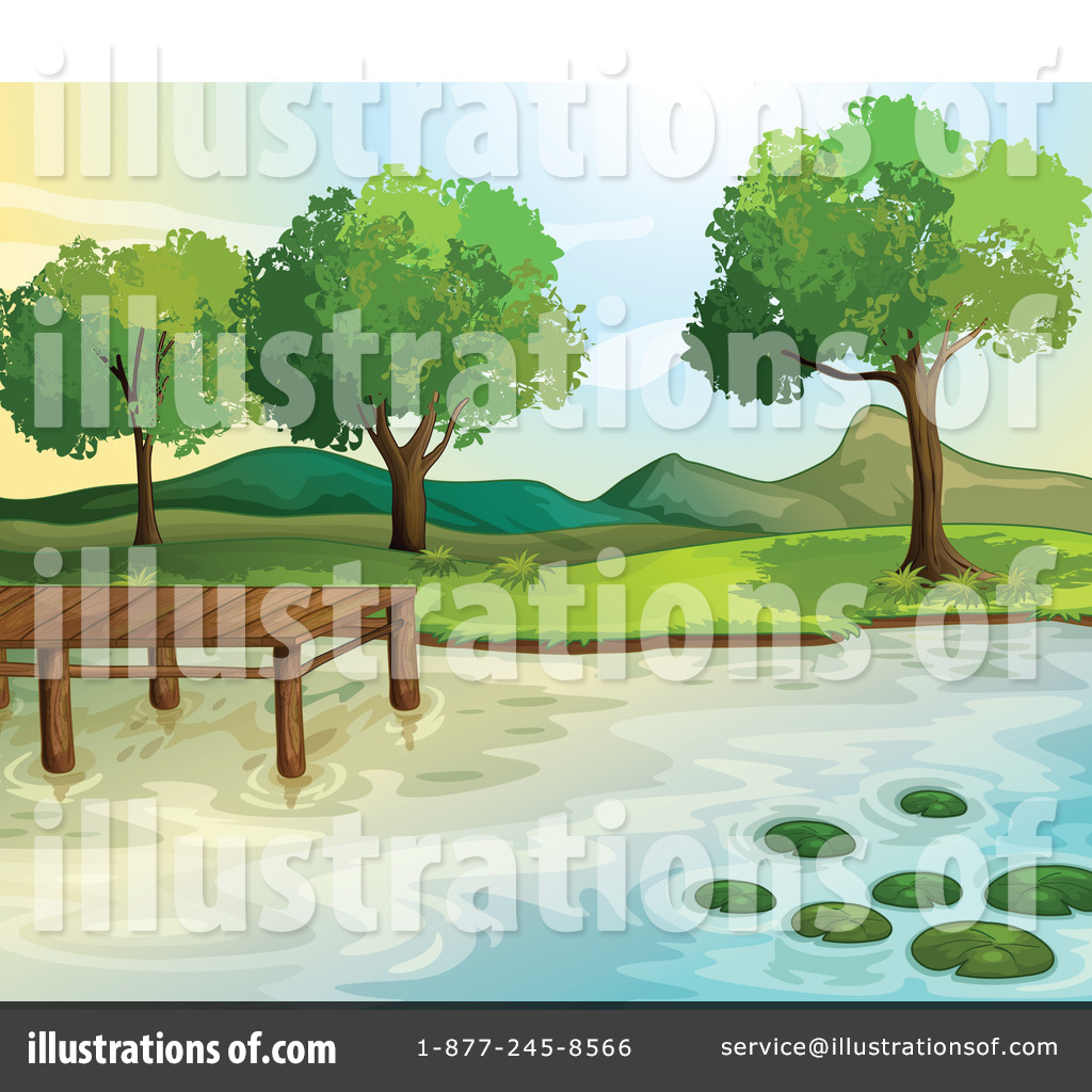 Free jpg clipart picnic on the lake clip library download Lake Clipart #1133409 - Illustration by Graphics RF clip library download