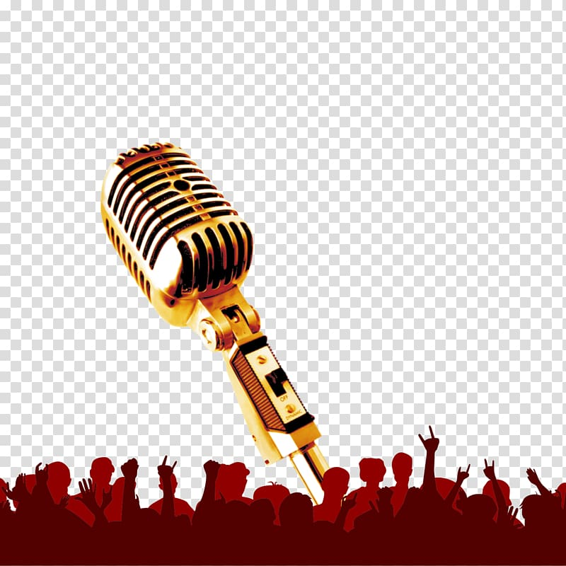 Gold condenser microphone musical. Free jpg images clipart military band concert
