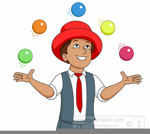 Library of free juggler vector black and white library png files ...