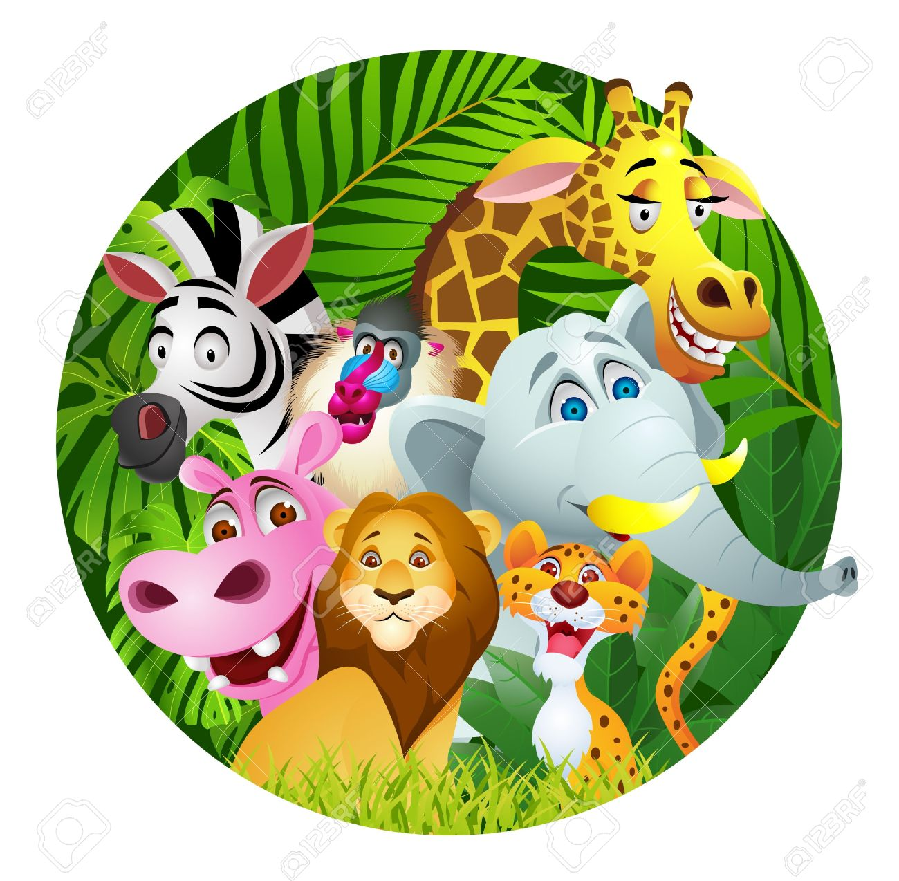 Free jungle clipart clipart library stock Free Jungle Clipart | Free download best Free Jungle Clipart on ... clipart library stock