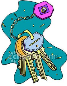 Free key ring clipart clip free download Keys on a Keyring | The Key To Happiness Lies In Your Hands ... clip free download