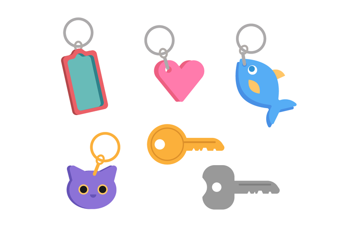 Free key ring clipart. Chain vector art downloads