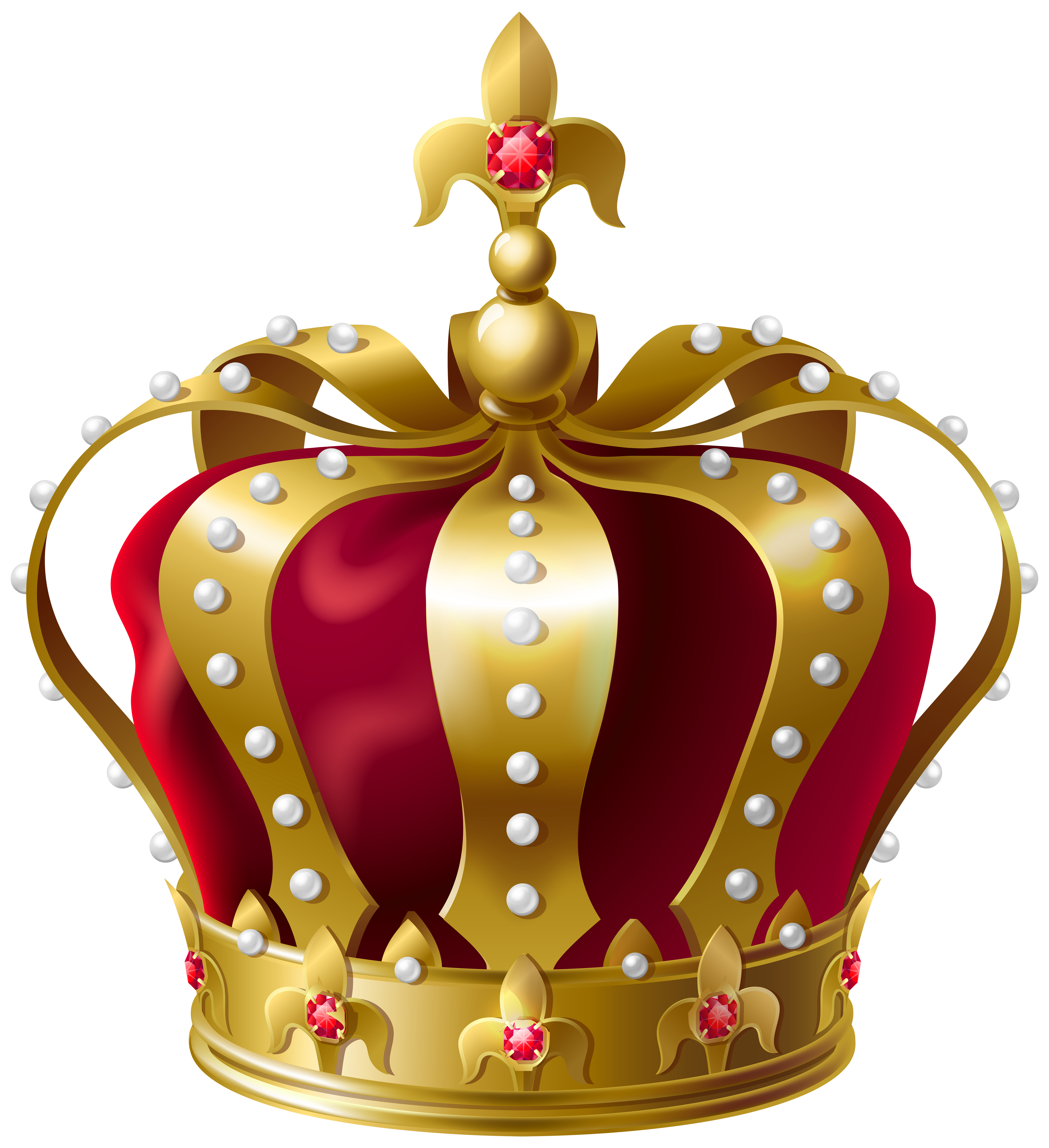 Happy birthday clipart for a crown for a king clipart svg freeuse download King Crown Transparent PNG Clip Art Image | Gallery Yopriceville ... svg freeuse download