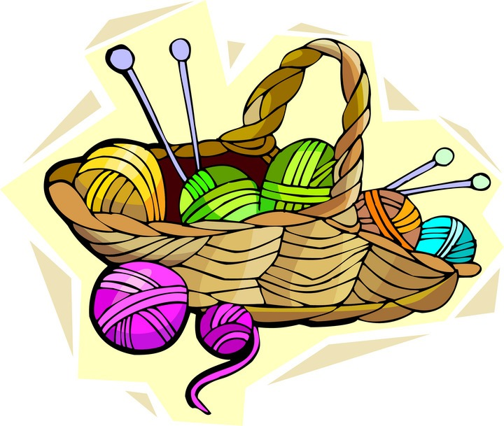 And knit crochet cliparts. Free knitting images clipart
