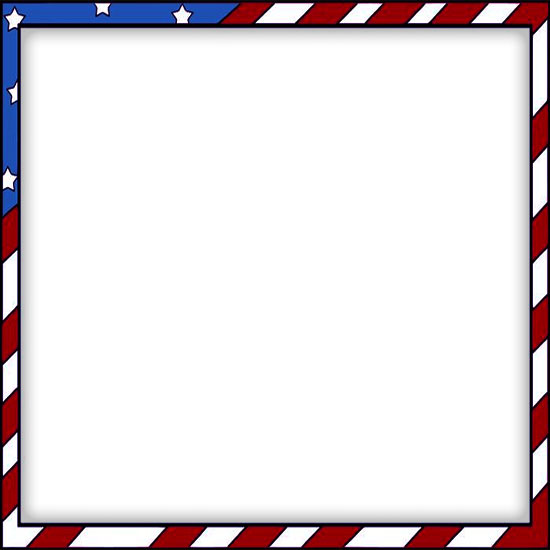 Free clipart border images of flag for labor day. Borders