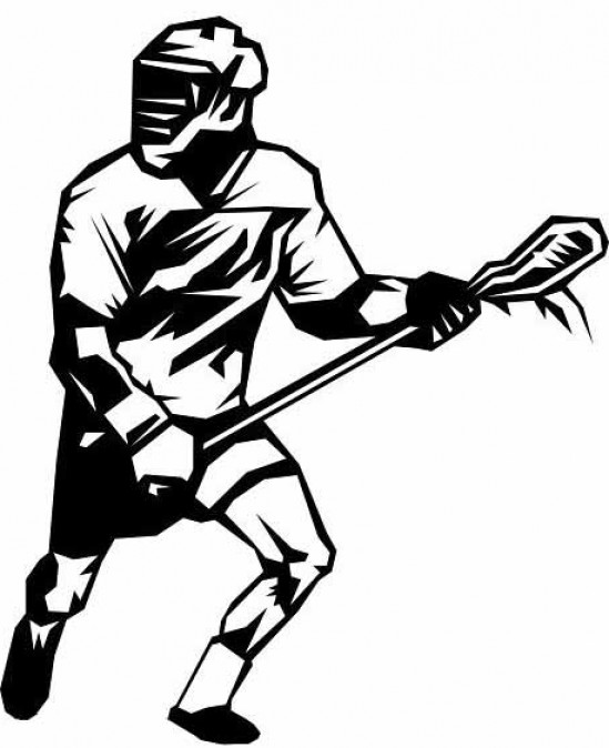 Free lacrosse clipart. Player shooting graphic new