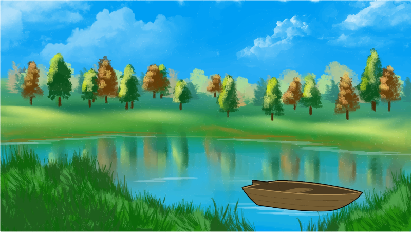 Lake scene background clipart clipart library library Clip art lake clipart image 3 - ClipartAndScrap clipart library library