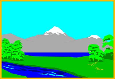 Lake scene background clipart graphic download Free Landscape Cliparts, Download Free Clip Art, Free Clip Art on ... graphic download