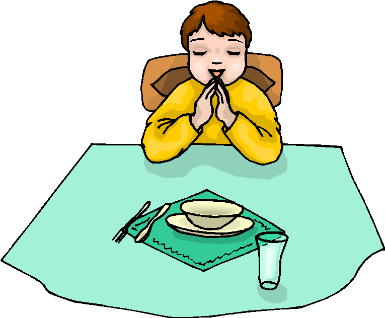 Free lds clipart children praying before meal jpg free stock Boy Pray Before Meal Free Clipart Free Microsoft Clipart - Clip Art ... jpg free stock