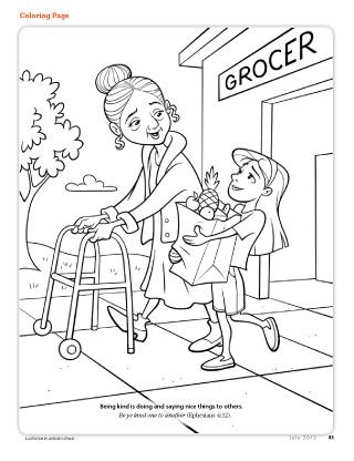 To for children carrying. Free lds primary boy and girl color clipart