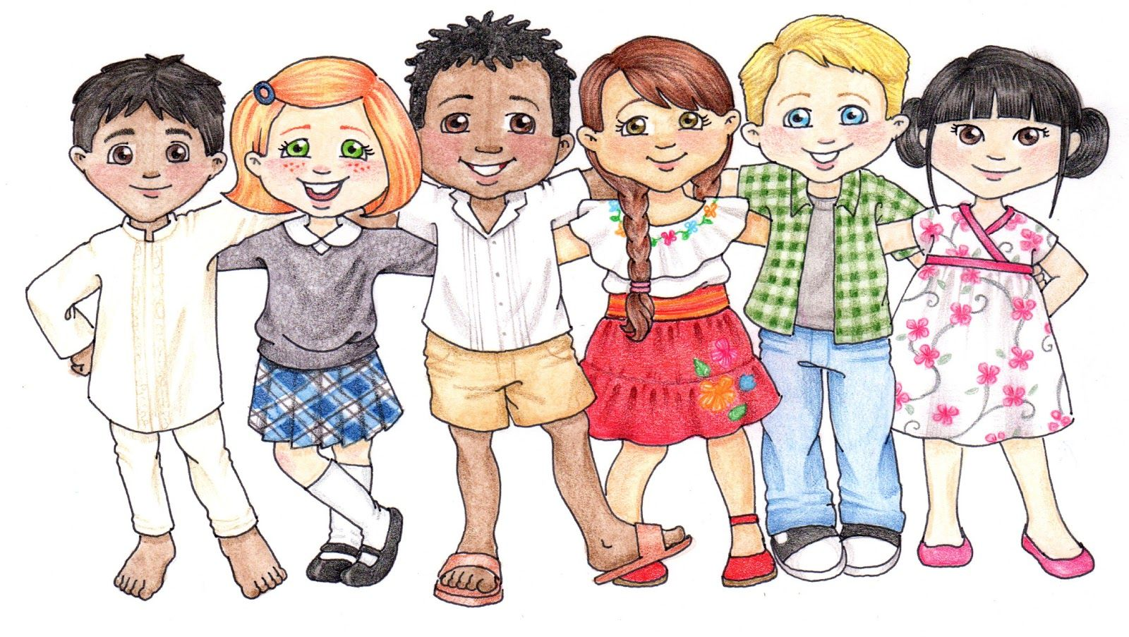 Free lds primary boy and girl color clipart. To for children most
