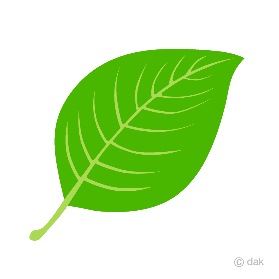 Leaaf clipart free Simple Leaf Clipart Free Picture|Illustoon free