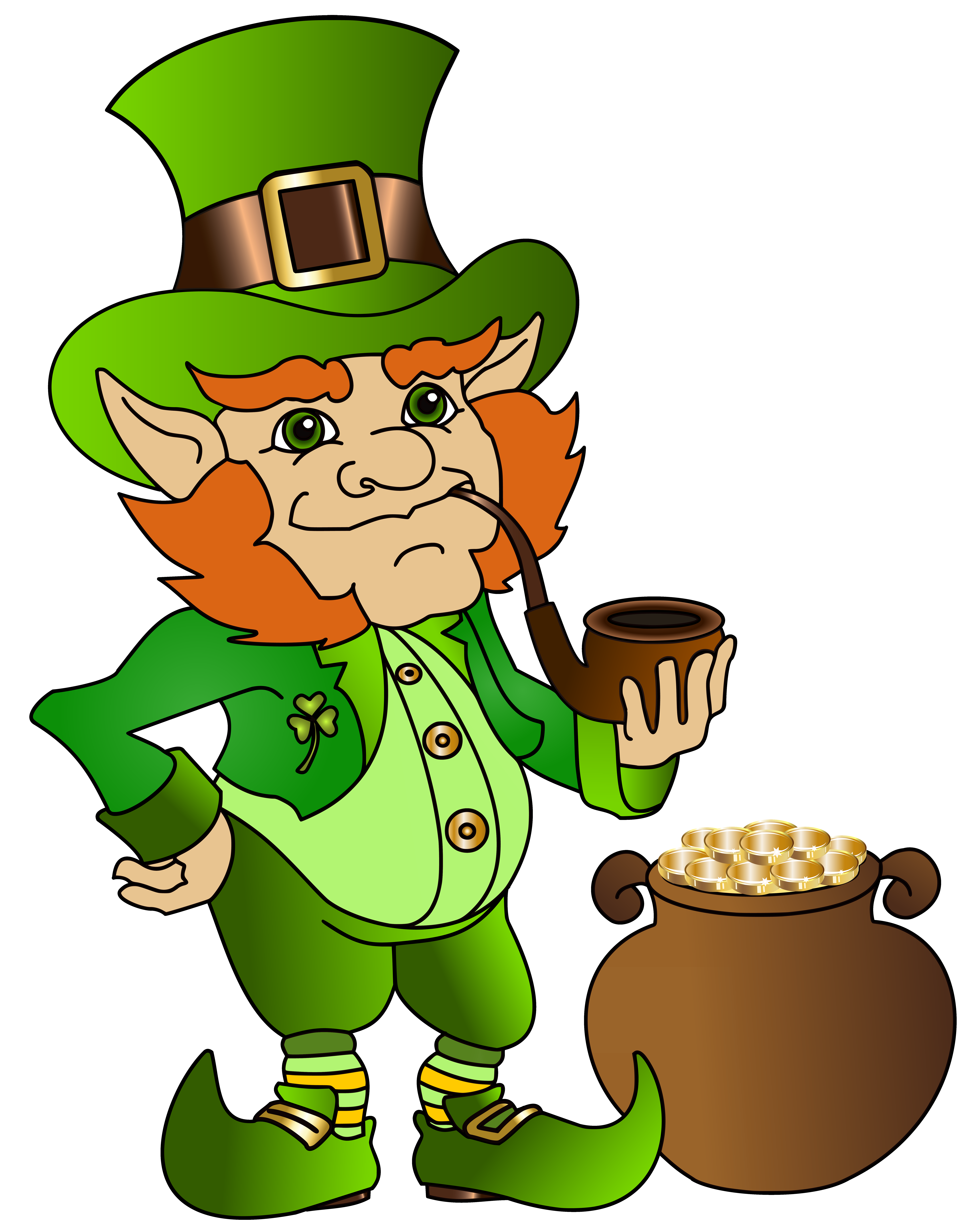 Leprechaun clipart png graphic free stock Leprechaun Transparent PNG Clip Art Image | Gallery Yopriceville ... graphic free stock