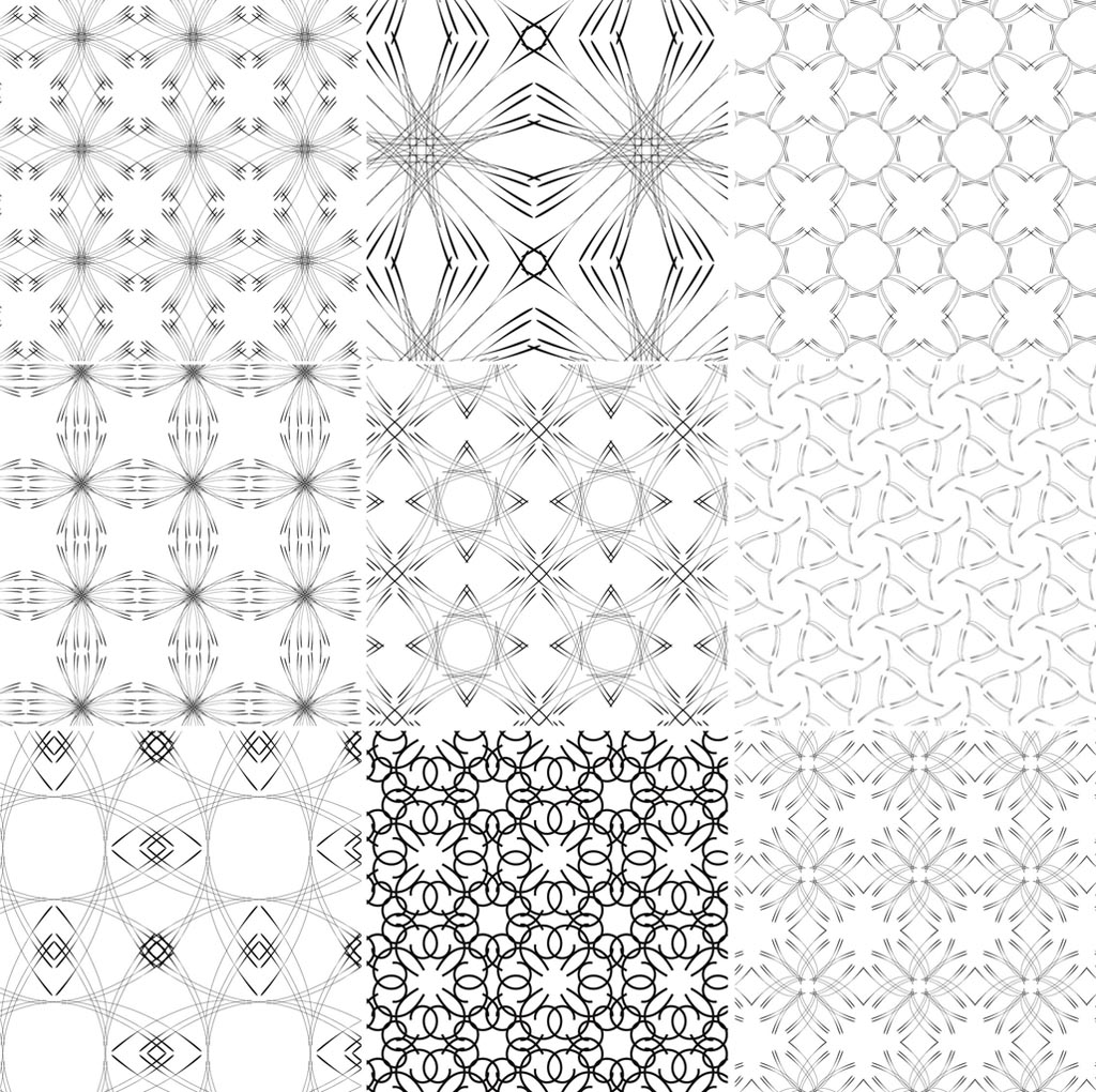 Free line art patterns vector freeuse library Free line art patterns - ClipartFest vector freeuse library