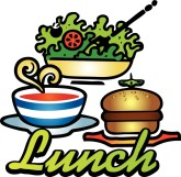 Free lunch clipart clip transparent library Lunch Time Clip Art | Clipart Panda - Free Clipart Images clip transparent library