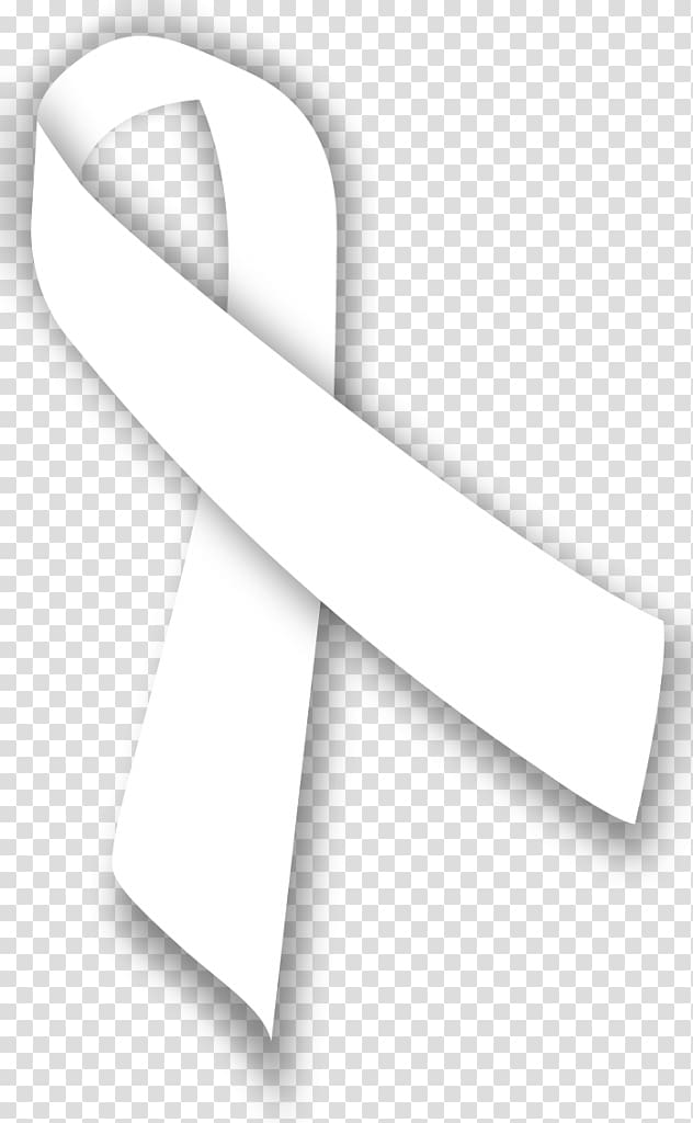White awareness ribbon clipart picture free stock Awareness ribbon Lung cancer White ribbon, ribbon transparent ... picture free stock