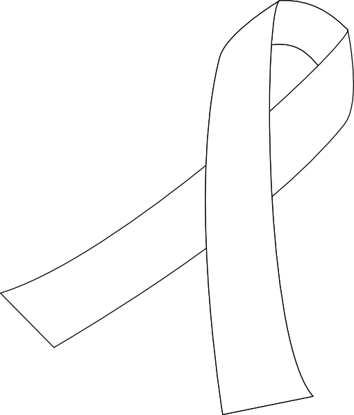 Free lung cancer ribbon clipart. Ribbons images gallery for